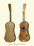 Antique Guitars II Prints by William Gibb