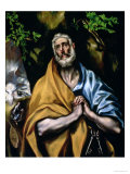 The Tears of St. Peter, Late 1580s Giclee Print by  El Greco