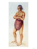 Indian Elder or Chief Giclee Print by John White