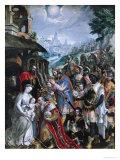 The Adoration of the Magi Giclee Print by Maarten de Vos
