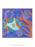 Pop Fish II Prints by Nancy Slocum