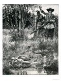 The Death of King Philip, from Harper's Magazine, 1883 Giclee Print by Howard Pyle