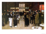 The Boulevard at Night, in Front of the Variety Theatre, circa 1883 Giclee Print by Jean Béraud