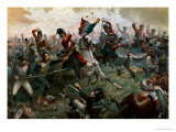 Battle of Waterloo, 18th June 1815, 1898 Giclee-trykk av William Holmes Sullivan