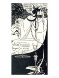 "J""Ai Baise Ta Bouche, Jokanaan, Illustration from ""Salome"" by Oscar Wilde, Pub. 1894 Giclee Print by Aubrey Beardsley"