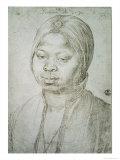 Portrait of Catherine, the Mulatta of the Portuguese Bradao, 1521 Giclee Print by Albrecht Dürer