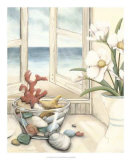 Beach House View II Giclee Print by Megan Meagher