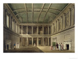 "Interior of Concert Room, from ""Bath Illustrated by a Series of Views"" Giclee Print by John Claude Nattes"
