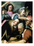 Christ Driving the Moneychangers from the Temple, 1626 Giclee Print by  Rembrandt van Rijn
