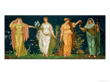 The Seasons Giclee Print by Walter Crane