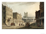 "Town Hall, Market and Abbey Church, from ""Bath Illustrated by a Series of Views"", by Miller, 1804 Giclee Print by John Claude Nattes"