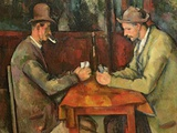 The Card Players, 1893-96 Premium Giclee Print by Paul Cézanne