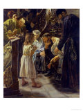 The Twelve-Year-Old Jesus in the Temple, 1879 Giclee Print by Max Liebermann