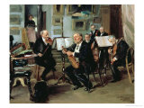 Musical Evening, 1906 Giclee Print by Vladimir Egorovic Makovsky