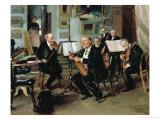Musical Evening, 1906 Giclee Print by Vladimir Egorovic Makovsky