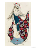 Costume Design for a Woman, from Judith, 1922 Giclee Print by Leon Bakst