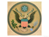 Great Seal of the United States, circa 1850 Giclee Print by Andrew B. Graham