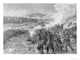 The Battle of Resaca, Georgia, May 14th 1864, from &quot;Battles and Leaders of the Civil War&quot; Reproduction proc&#233;d&#233; gicl&#233;e par Alfred Rudolf Waud