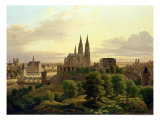 A Medieval Town in 1830, 1830 Giclee Print by Carl Georg Adolph Hasenpflug