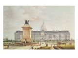 View of the Hotel des Invalides Giclee Print by Victor Jean Nicolle
