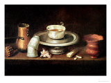 Still Life with a Bowl of Chocolate, or Breakfast with Chocolate, circa 1640 Giclee Print by Juan De Zurbaran