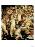 The Worship of Venus, 1519 Giclee Print by Titian (Tiziano Vecelli)