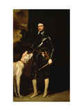 Thomas Wentworth, 1st Earl of Strafford 1633-6 Giclee Print by Sir Anthony Van Dyck