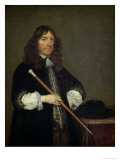 Portrait of the Mayor of Amsterdam Nicolaes Pancras, 1670 Lámina giclée por Gerard Terborch