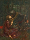 La Belle Dame Sans Merci, 1893 Reproduction procédé giclée par John William Waterhouse