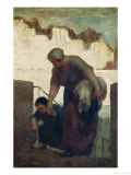 The Washerwoman, circa 1860-61 Giclee Print by Honore Daumier