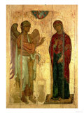 The Ustiug Annunciation, circa 1130-40 Giclee Print