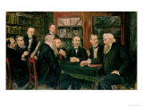 The Hamburg Convention of Professors, 1906 Giclee Print by Max Liebermann