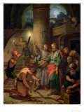 The Deliverance of St. Paul and St. Barnabas Giclee Print by Claude-Guy Halle