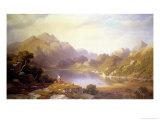 Loch Katrine Giclee Print by George Fennel Robson