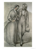 The Wedding Morning - the Departure, circa 1846 Giclee Print by Richard Redgrave