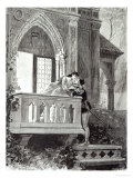 Scene from Act II of Romeo and Juliet, Performed at the Theatre National de L'Opera, 1888 Giclee Print by Paul Destez