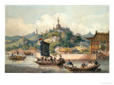 Emperor of China&#39;s Gardens, Imperial Palace, Peking, 1793 Giclee Print by William Alexander