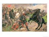 The Red Dundich in Combat, 1929 Reproduction proc&#233;d&#233; gicl&#233;e par Mikhail Ivanovich Avilov