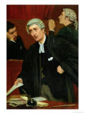 The Barrister Premium Giclee Print by Thomas Davidson