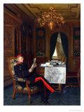 Moltke in Versailles, 1872 Giclee Print by Anton Alexander von Werner