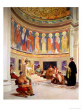 St John Chrysostom Exiled by Empress Eudoxia Giclee Print by Benjamin Constant