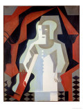 Pierrot, 1919 Giclee Print by Juan Gris