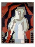 Pierrot, 1919 Giclee Print by Juan Gris