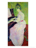 Marguerite Gachet at the Piano, c.1890 Reproduction procédé giclée par Vincent van Gogh