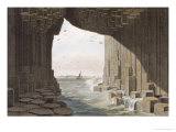 In Fingal&#39;s Cave, Staffa, Published 1829 Giclee Print by Thomas &amp; William Daniel