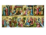 The Buxtehude Altar, Central Panel, 1400-10 Giclee Print by Master Bertram of Minden