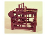 Working Model of a Loom from One of Leonardo's Drawings Giclee Print by Leonardo da Vinci