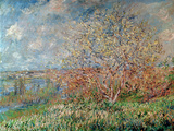 Spring, 1880-82 Giclée-trykk av Claude Monet