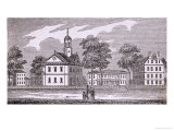 "Harvard University, Cambridge, from ""Historical Collections of Massachusetts"", 1839 Giclee Print"