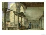 Loggia of Memlook Radnau Bey's House, Cairo Giclee Print by Frank Dillon